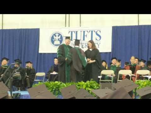 Jason Tufts Medical Graduation