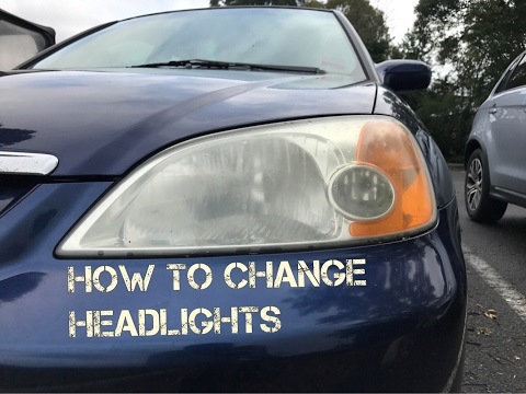 How to Change headlights - 2004 Honda Civic ES1/ES2/EM2/EP3