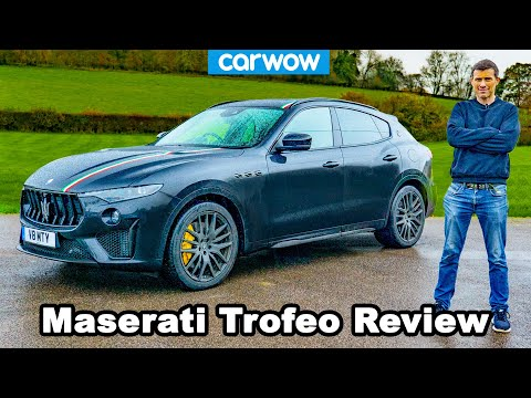 Maserati Levante Trofeo 2021 review – you'll be amazed how quick it is to 60mph!