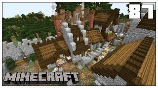 THE VILLAGE BAKERY & BUTCHER SHOP!!! ► Episode 87 ►  Minecraft 1.14 Survival Let's Play