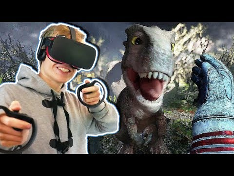 DINOSAUR ISLAND IN VIRTUAL REALITY | Robinson: The Journey VR (Oculus Touch Gameplay)