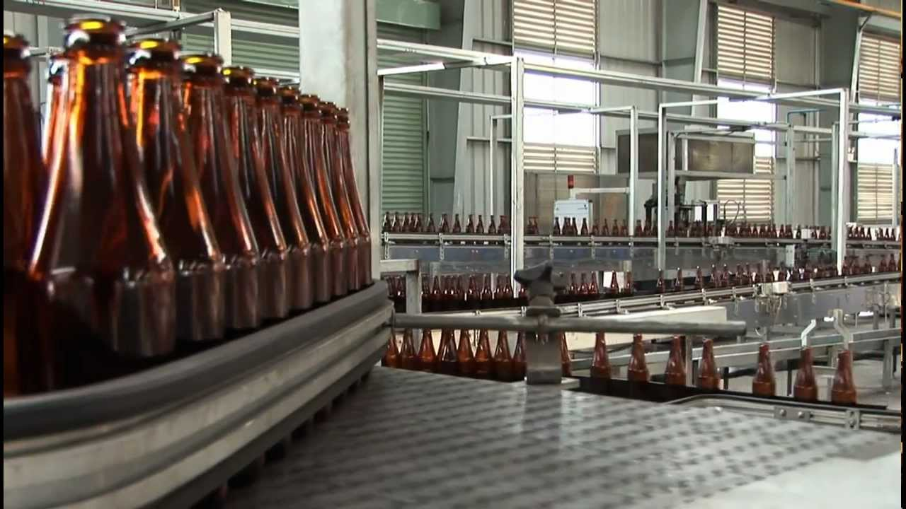 Production of Glass Bottles - Video Production/Cameraman Peter Scheid  Vietnam