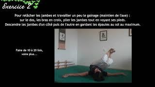 AIKI'DOMICILE Cours #6 / Extrait n°3 / 4 exercices pour le gainage et l'axe