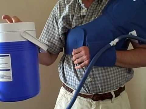 Aircast Shoulder Cryo Cuff Video Review Dme Direct Youtube
