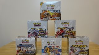 Opening 6 Pokemon booster boxes