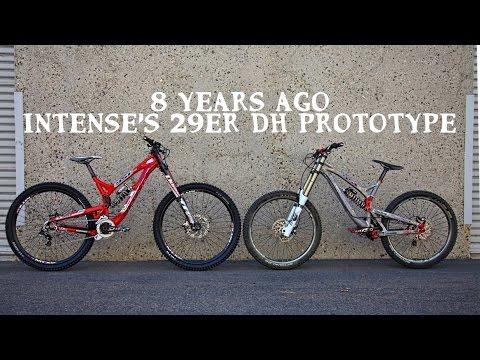 0b3a30b97ae Intense 29er Downhill Bike Prototype - YouTube