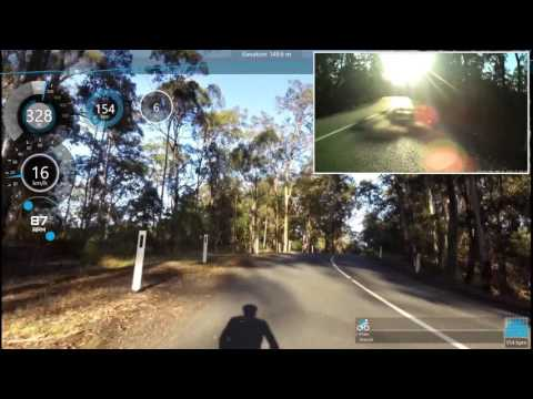 Mount Nebo Ride Hill Climbing - Indoor Trainer Workout 50 Minutes