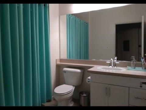 Apartment Bathroom Decorating ideas. No nails, no screws. DD's Discount