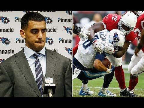 Titans QB Mariota apologizes for being rude to reporters