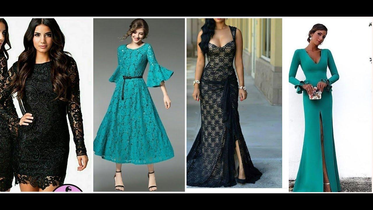موديلات فساتين سهرة سواريه طويلة جديدة 2018 Youtube Dresses Prom Dresses Formal Dresses