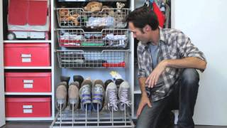 Creative Ways To Store Shoes Inside : Home Storage & Organizing