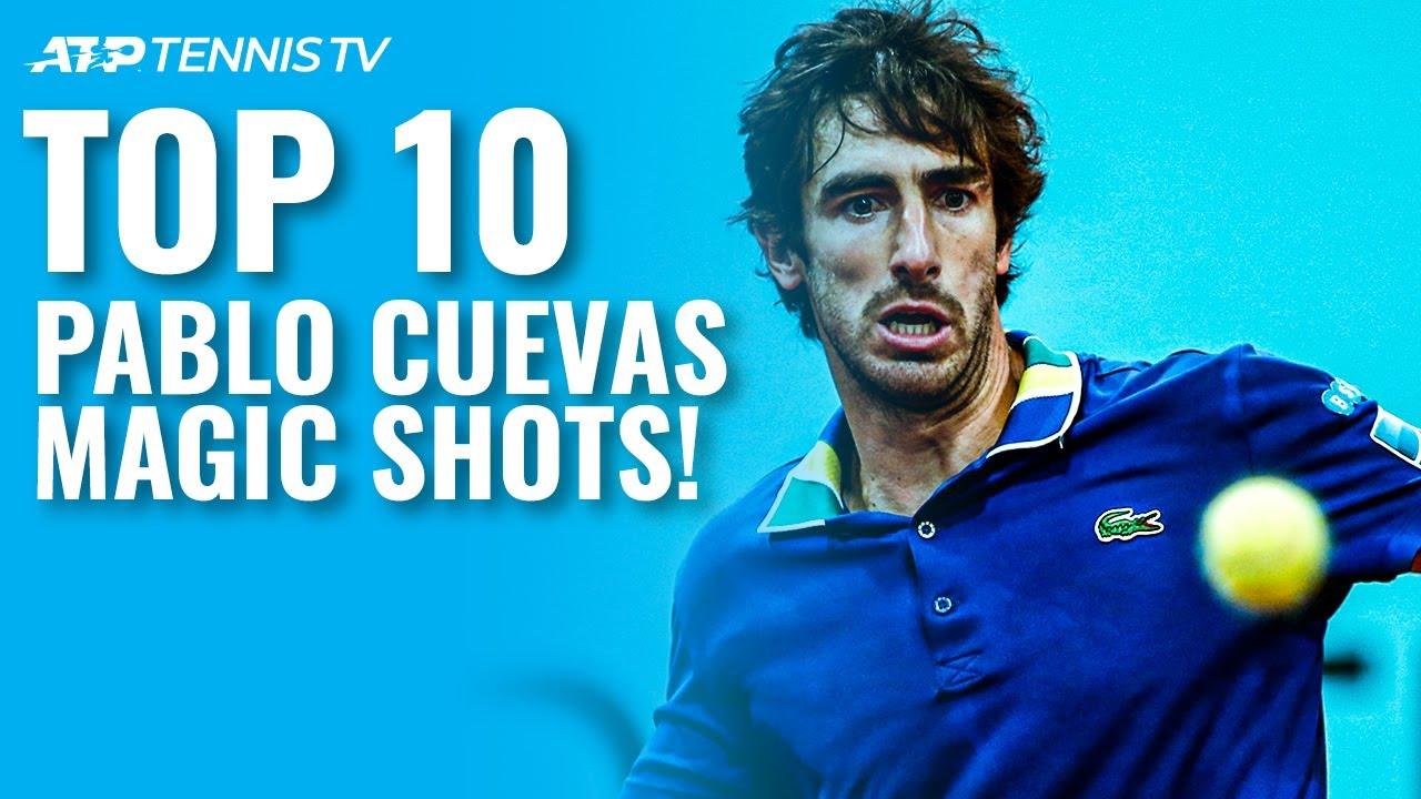 Top 10 MAGIC Pablo Cuevas ATP Tennis Shots! ✨