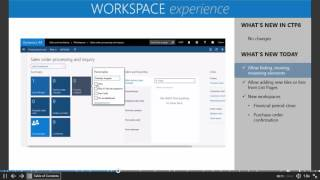 Gambar cover Microsoft Dynamics AX7 - The New Workspace Experience