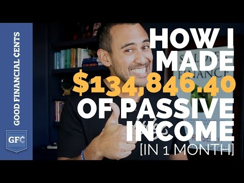 How I Made $134,846.40 of Passive Income in 1 Month [Myths Debunked]