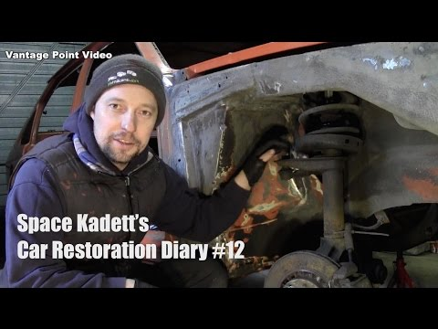 Inner Wing Repair and Shock Removal: Car Restoration Diary #12