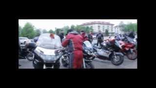 свадьба на мотоциклах в полоцке и новополоцке.mp4