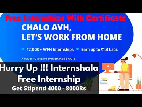 internshala-free-online-courses-with-certificate-and-money|work-from-home|intership-|telugu|english|