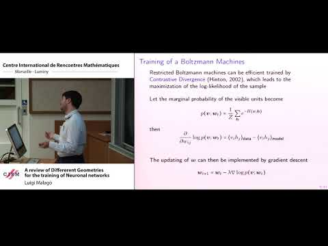 Luigi Malagò : A review of Different Geometries for the Training of Neural Networks