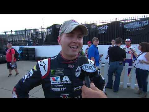 Casey Carter - Charlotte native William Byron wins pole for Coca-Cola 600