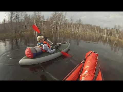 Сплав по паводковой реке Большая Ушма - река Клязьма/ водный туризм/ 1 часть