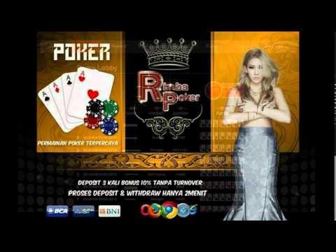 rimbapoker.com poker online bonus terbesar