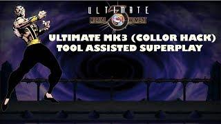 Ultimate MK3 (Color hack) - Shang  Tsung【TAS】