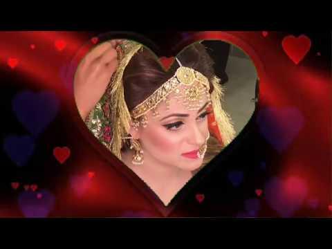 Latest Pakistani Bridal Dresses  2018  !   beautiful bridal make up !  Asian Bridal Makeup Tutorial