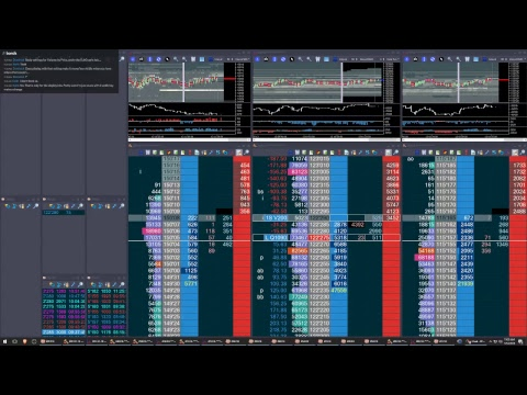 Live Futures Trading.  Bitcoin and Treasuries Futures. 2018-01-12