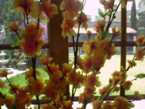 Tutorial como decorar con plantas artificiales youtube - Decorar con flores artificiales ...