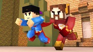 Minecraft: NOVO MINIGAME (Build Battle) - OS NOVOS SUPER HERÓIS!! (c/ Luiz)