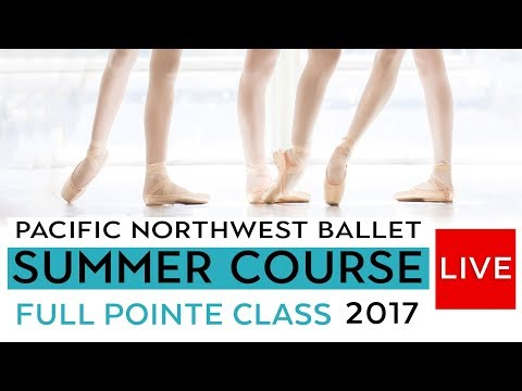 PNB Summer Course 2017 -  Full Pointe Class LIVE - Level VII