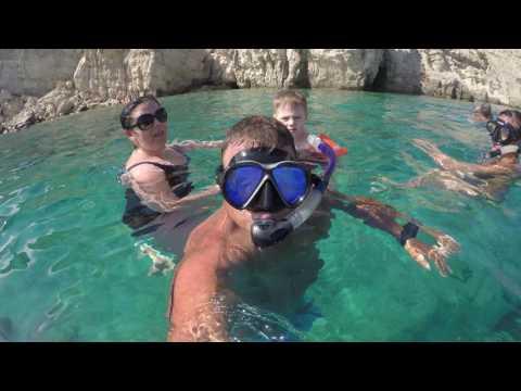 Captain hook kos Greece 2016 scuba diving onboard with Crazy Kostas