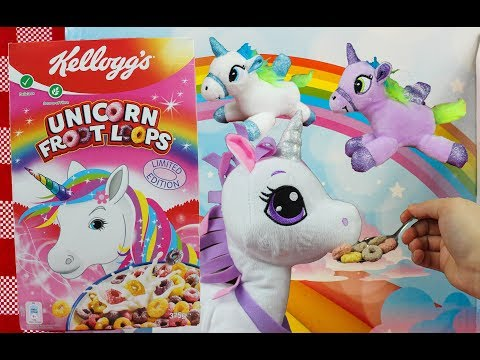 Limited Edition Unicorn Cereal + Walking and Musical Unicorn Toys Toy Review by Toy Picnic