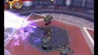 Musashi Samurai Legend Galvabot Swarm Mini Game