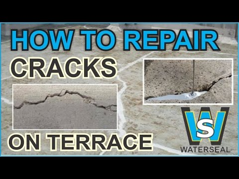 How to fill cracks and holes on terrace wall water tanks for Terrace waterproofing methods
