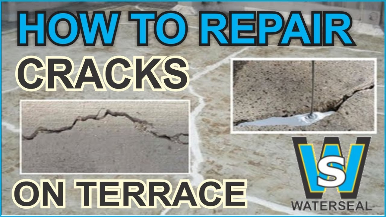 Beautiful How To Fill Cracks And Holes On Terrace,Wall U0026 Water Tanks