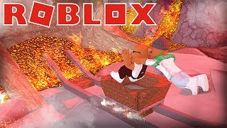 SCARIEST CART RIDE TO THE UNDERWORLD IN ROBLOX! (Cart Ride to The Underworld)