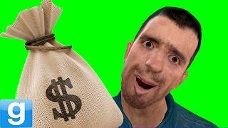 BANK ROBBERY! - Gmod Cops Vs. Robbers Gamemode (Garry's Mod)