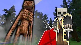 Siren Head is After Us in Minecraft!  Minecraft Multiplayer Gameplay