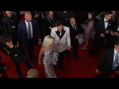 Lady Gaga On The Red Carpet | 2019 GRAMMYs