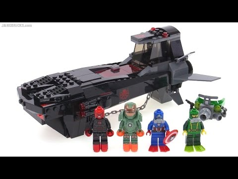 LEGO MARVEL SUPER HEROES 76048 IRON SKULL SUB ATTACK BRAND NEW