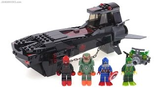 LEGO Marvel Super Heroes Iron Skull Sub Attack review! set 76048