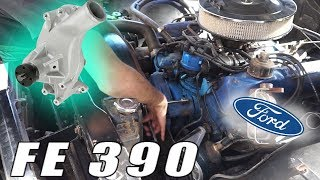HOW TO: FORD FE 390 WATER PUMP - YouTube | Ford Fe Engine Cooling Diagram |  | YouTube