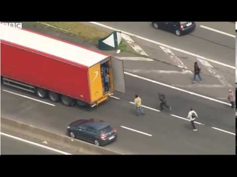 Calais, France: Illegal Infiltrators Seek To Exploit Port Strike By Committing Traffic Violations
