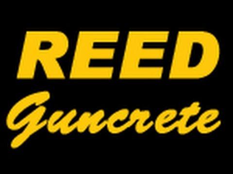 REED Gunite Machine Instructional Video #3 of 4 - Gunning/Spraying