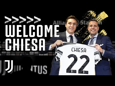 WELCOME CHIESA   Federico Chiesa is Presented as a Juventus Player