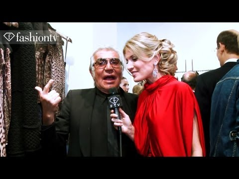 Rosario Dawson at Roberto Cavalli Store Opening ft Hofit Golan - London Fashion Week | FashionTV FTV