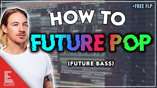 HOW TO FUTURE POP (Future Bass) | FREE FLP + SAMPLE PACK (Diplo, Grey, Zedd Style)