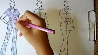 Download Video Menggambar busana wanita #2 MP3 3GP MP4