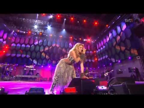 Shakira   Hips Dont Lie   She Wolf   Waka Waka Live World cup 2010